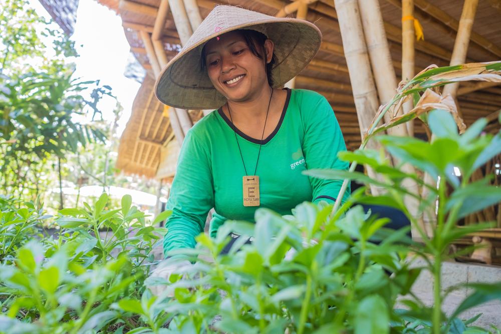 Ibu Indra & the Gardens of Green School