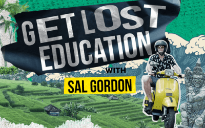 """A Vodcast Series by our Principal, Sal Gordon, launches! Watch """"Get Lost Education"""""""