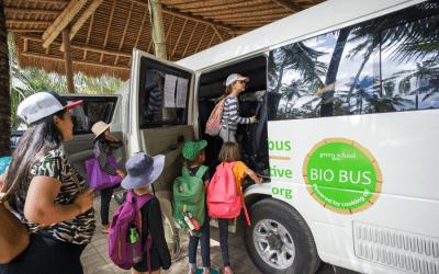 UNESCO Recognises Green School Bali's Bio Bus as a 'Green Citizen'