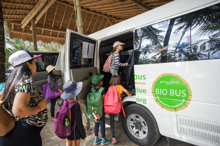 UNESCO Recognises Green School Bali's Bio Bus as a 'Green Citizen'