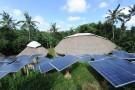 solar panels top view