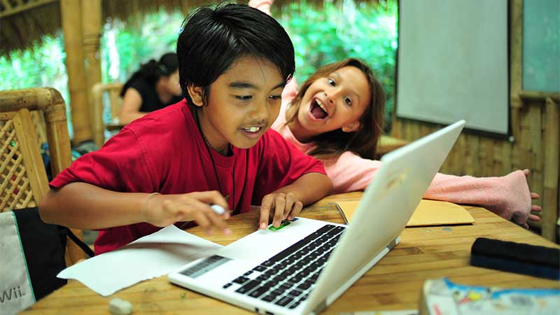 student-on-laptop